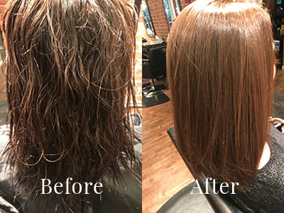 Brazilian Blowout & Keratin Smoothing